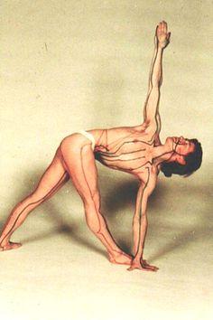 1977: Yoga and acupuncture points (vintage yoga photo) ...... #vintageyoga #yogahistory #1970s #yogaworld #om #namaste #yoga