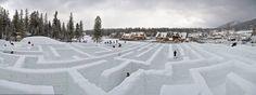 zakopane snow maze // poland