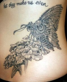 Mechanical Butterfly Tattoo by nataliaborgia.deviantart.com on @deviantART