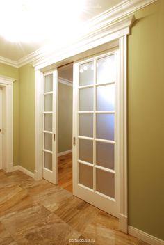Cheap Internal Doors - February 25 2019 at Wooden Sliding Doors, Sliding French Doors, Sliding Door Design, Sliding Glass Door, Glass French Doors, Double Doors, Interior Door Styles, Door Design Interior, Interior Barn Doors