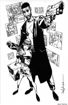 Leon, the Professional by Jason Pearson
