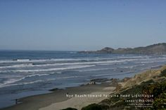 Nye Beach Newport Oregon