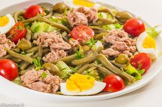 Green beans salad with tuna , Salad Dressing Recipes, Salad Recipes, Keto Recipes, Healthy Recipes, How To Cook Beans, How To Cook Quinoa, Chicken Lunch Recipes, Green Bean Salads, Green Beans