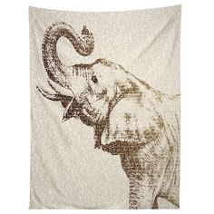 Belle13 The Wisest Elephant Tapestry