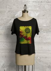 BRIGHT SUNFLOWERS: Boatneck Boyfriend TEE  special 50% short time only  CODE:CODE: ISABESMPLPFQZF What a beautiful product!