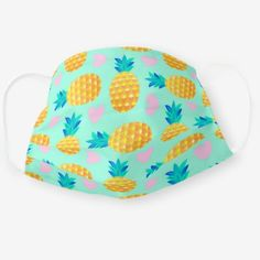 Diy Mask, Diy Face Mask, Face Masks, Cute Pineapple, Fashion Face Mask, Go Shopping, Sunglasses Case, Coin Purse, Money