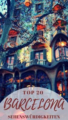 Nur wenig Zeit in Barcelona? Hier beschreibe ich dir eine praktische Route entlang der 20 schönsten Barcelona Sehenswürdigkeiten.