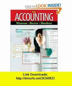 Accounting (9780538475006) Carl S. Warren, James M. Reeve, Jonathan Duchac , ISBN-10: 0538475005  , ISBN-13: 978-0538475006 ,  , tutorials , pdf , ebook , torrent , downloads , rapidshare , filesonic , hotfile , megaupload , fileserve