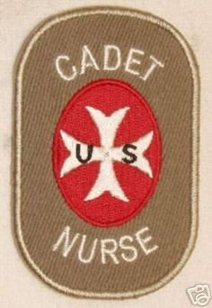 0558    WWII Cadet Nurse Patch