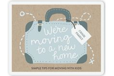 Fantastic tips for moving with kids from a mom who's done it...a lot. Alone. | Cool Mom Picks
