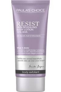 RESIST Skin Revealing 10% AHA Lotion #paulaschoice #fragrancefreeproducts #crueltyfreeproducts  -Purchased!