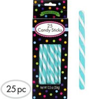 Lollipop sticks 25pcs $5.99 Robin's Egg Blue Candy Buffet Supplies - Robin's Egg Blue Candy & Containers - Party City