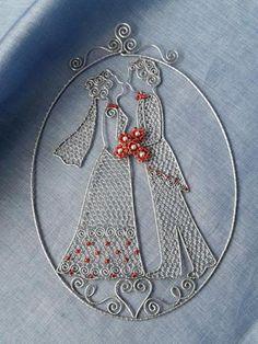 Ona a on:) Autorka: Marushka. Drôtovanie, šperk, dekorácia, diy, hand made. Artmama.sk.