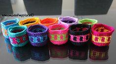 homemade@myplace: Lilliputian Baskets - Free pattern & photo tutorial - tapestry crochet