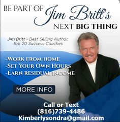 Partner with Jim Britt - Best Selling Author Top 20 Success Coaches Health And Wellness, Health Fitness, Water Ionizer, Lose Weight, Weight Loss, Success Coach, Let God, Text Me, Cleaning Solutions