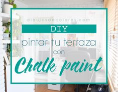 Diy cómo pintar terraza con chalk paint Macrame, Diy, Home Decor, Decorative Mouldings, Make A Purse, How To Make Bags, How To Make, Step By Step Drawing, Foam Rollers