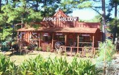 This adorable gift shop called Apple Hollow is surrounded by pine trees and an apple orchard just off Highway 71 in Quinton. You'll find apple-inspired gift items, made in Oklahoma products including jams, jellies, relishes and fried pies and country decor.