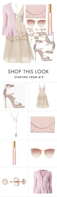 """""""Song for a springtime"""" by hiddensoulmemories ❤ liked on Polyvore featuring Dsquared2, Carolina Herrera, Kate Spade, Tory Burch, Linda Farrow, Latelita, Alexander McQueen and Carolee"""