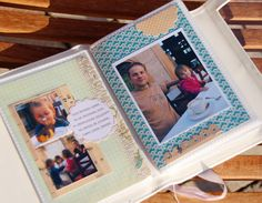 Cute Minibook from a simple 4x6 photo album