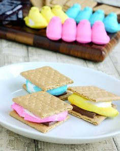 Quick & Easy Easter Treats: Mmmmm. Smores. The Pioneer Woman is brilliant.