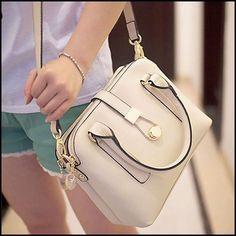 Fashion Contrast Color Three Shells Messenger Bag&Shoulder Bag #bag #shell #shoulder