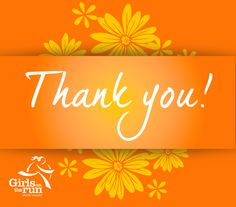Thank you cards. Spread the Girls on the Run core value of gratitude with Girls on the Run of Stark County's printable thank you cards. http://gotrstarkcty.org/OurMission.html