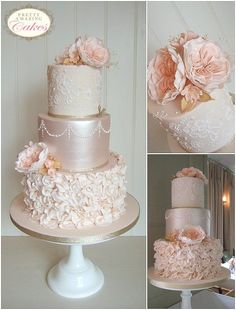 Wedding Cakes Bristol, Gloucester | Bespoke Wedding Cakes Design