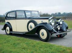 Rolls Royce Sedanca De Ville 1937