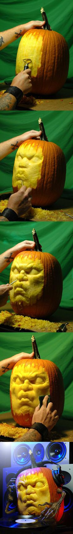 Pumpkin carving tutorial