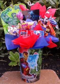 The Avengers Kids Candy Party Favors