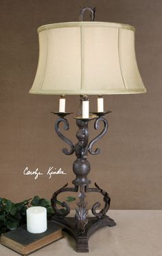 Uttermost Hope Bronze Table Lamp