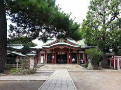 品川神社一粒万倍の泉と富士塚 2017全体運第一位パワースポット