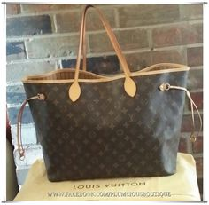 Wow__Worth it! Cofortable and cheap Neverfull Purse!Just $227.99 Today. #Neverfull #Fashion #Louis #Vuitton #Handbags