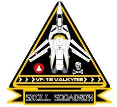 Cartoon Classic Robotech Skull Squadron Logo Custom Tee Any Size Leader Manga Anime, Comic Anime, Anime Comics, Comic Art, Anime Art, Macross Valkyrie, Robotech Macross, Badges, Macross Anime