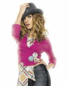 My friend and I were looking through my GAP lookbook and came across the SJP GAP add from 2004-2005. We were wondering why this broche/pin cardigan closure thing didn't catch on. I think I'm going to bring it back for this season :) #sarahjessicaparker #gap #cardigans #broche