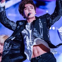 """; just got the news from bighit staff """"that if music video surpass 100M views before mama 2016, jungkookie will rip his shirt off and gonna slay his abs on stage!!!  - Idk if that true or not but holyshit Imagine that's true omg I'll die please watch the MV blood sweat and tears and vote to bts mama2016 ㅠㅠㅠㅠ I just want see his abs  @bts.jungkook"""