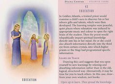 Today's Atlantis Card – Diana Cooper - Open up to learn . Then spread the knowledge . Diana Cooper, Messages From Heaven, Novena Prayers, Angel Guidance, Angel Cards, Bible Knowledge, Spiritual Wisdom, Oracle Cards, Past Life