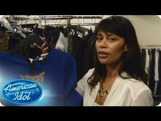 Angie Miller loves wearing black, but electric blue was incorporated into her outfit for this week. Watch and see how American Idol Stylist Nra got the look!
