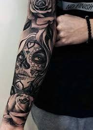 Bilderesultat for catrina para hombre tatuajes