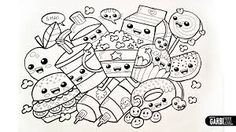 kawaii coloring pages - Google Search
