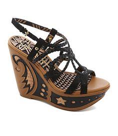 Jessica Simpson Karlier Wedge Sandals | Dillard's Mobile