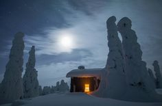 """""""Would you like to spent a night in place like this? You need to wait for next winter season if you…"""""""