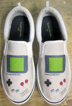 Nintendo Game Boy Shoes