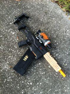 "Step-by-step of how this guy modified a Nerf gun into Jayne Cobb's ""Vera"" gun from Firefly. Firefly Costume, Firefly Cosplay, Modified Nerf Guns, Boston Comic Con, Jayne Cobb, Malcolm Reynolds, Cool Nerf Guns, Nerf Mod, Steampunk Gun"