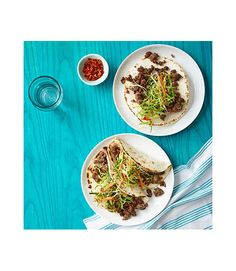Our Korean beef tacos are the perfect quick dinner dish to excite your taste buds any night of the week. Get the recipe  - WomansDay.com
