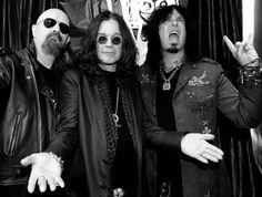 Halford, Osbourne and Sixx