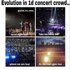 See the evolution of fandom!! #GrowingUpADirectioner {we keep this love in a photograph} xx