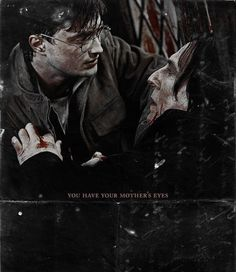 Snape's last moments ....... thinking of Lily.  ...........as ALWAYS!!!!
