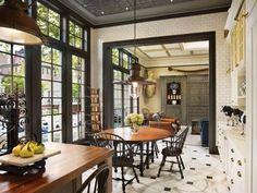 Victorian-inspired kitchen