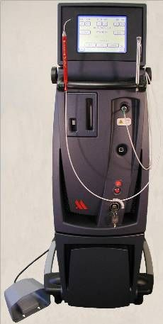 This is the laser that is used to do LANAP.  It is an ND;Yag laser that is FDA cleared to reverse gum disease also known as Periodontitis